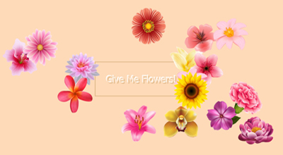 A small web app I made so that I could give myself flowers and arrange them. ;-)